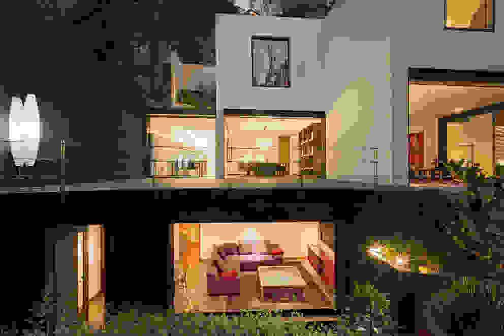Balcones y terrazas de estilo moderno de Lopez Duplan Arquitectos Moderno