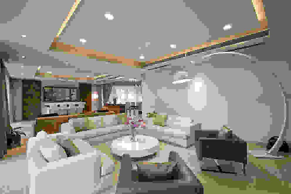 Salon moderne par Chaney Architects Moderne