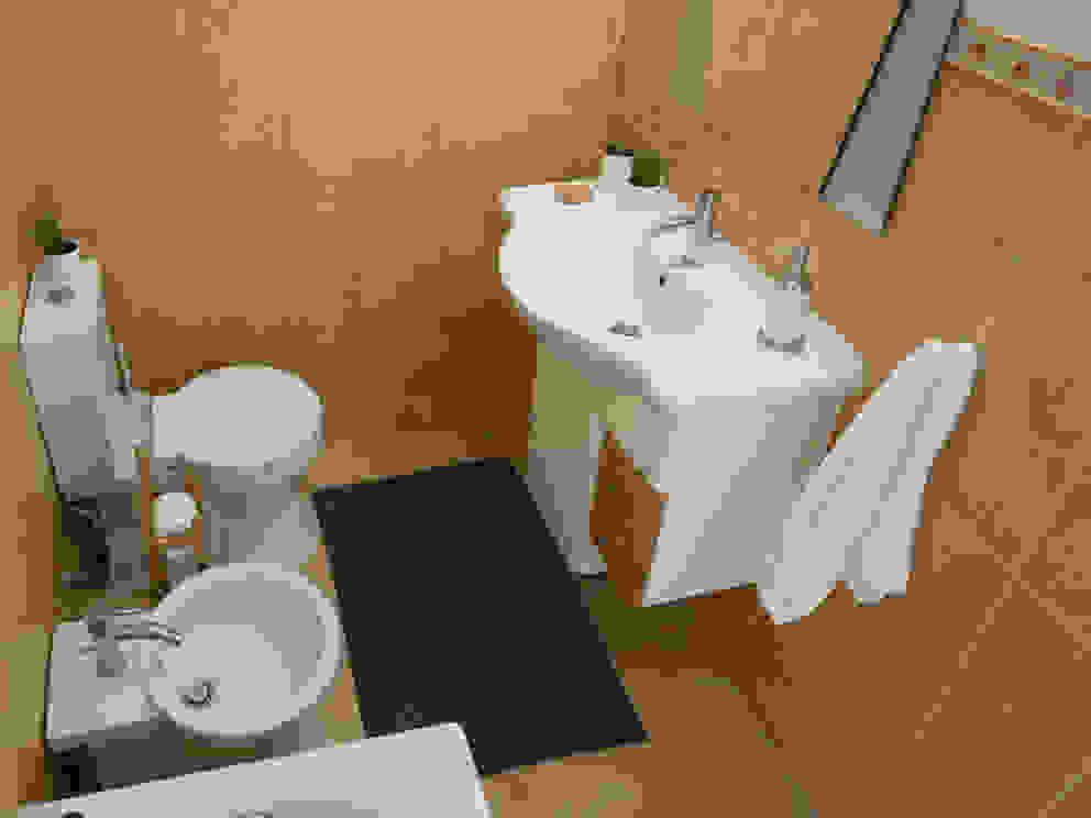 Apartamento Anos 50 | Depois Banheiros ecléticos por MUDA Home Design Eclético