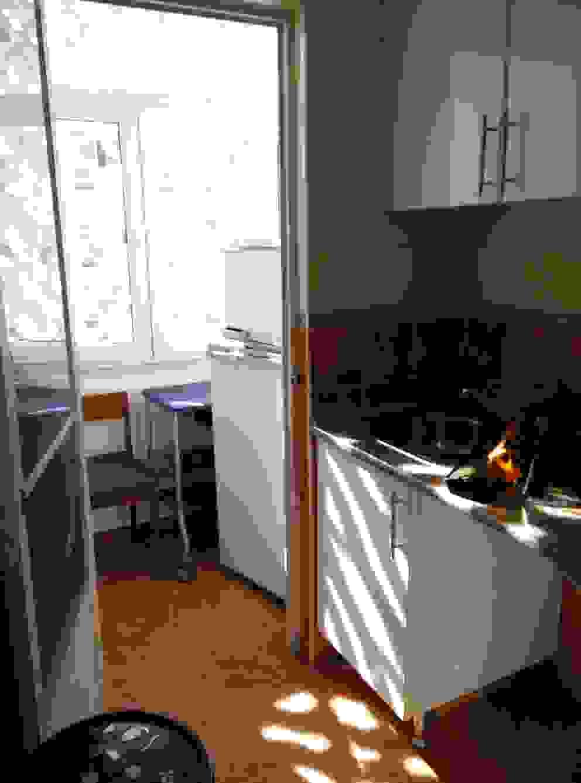 Apartamento Anos 50 | Antes Cozinhas ecléticas por MUDA Home Design Eclético