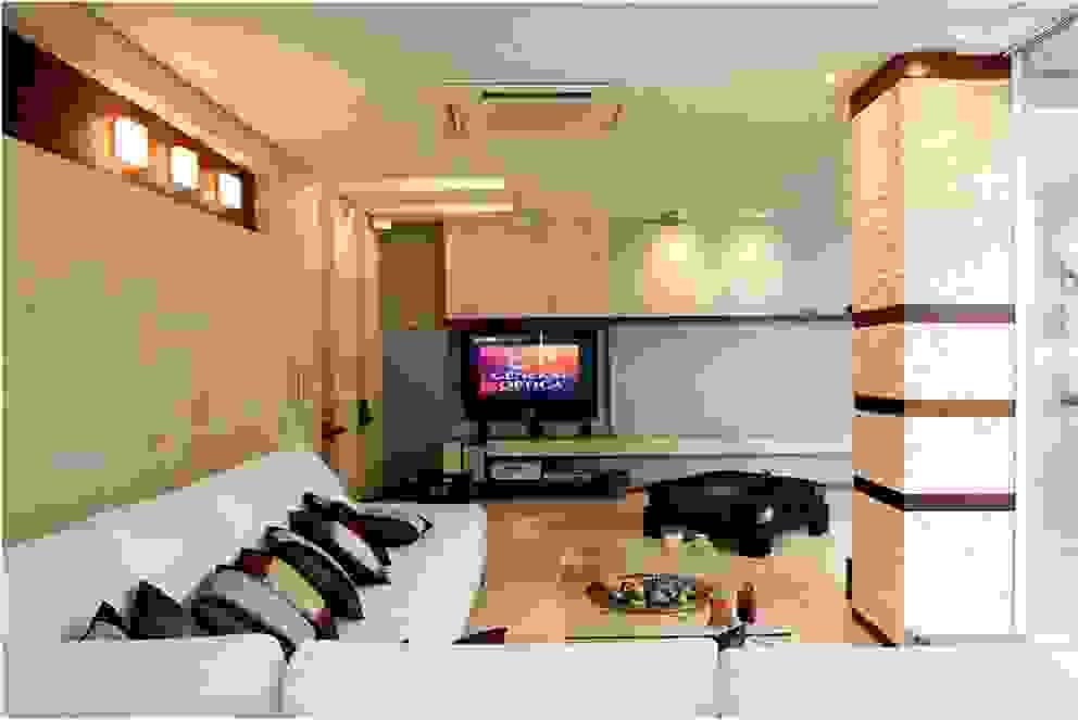 Pent House 505 Salas de estilo moderno de Arq Renny Molina Moderno