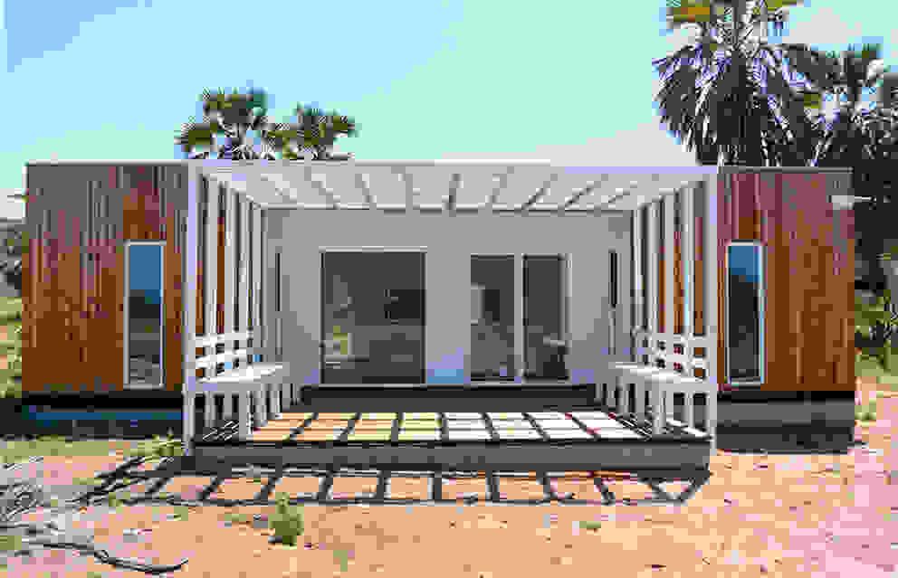 Casas de estilo  de Jular Madeiras, Moderno Madera Acabado en madera