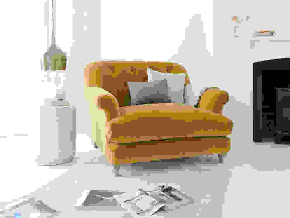 Truffle love seat Loaf Living room
