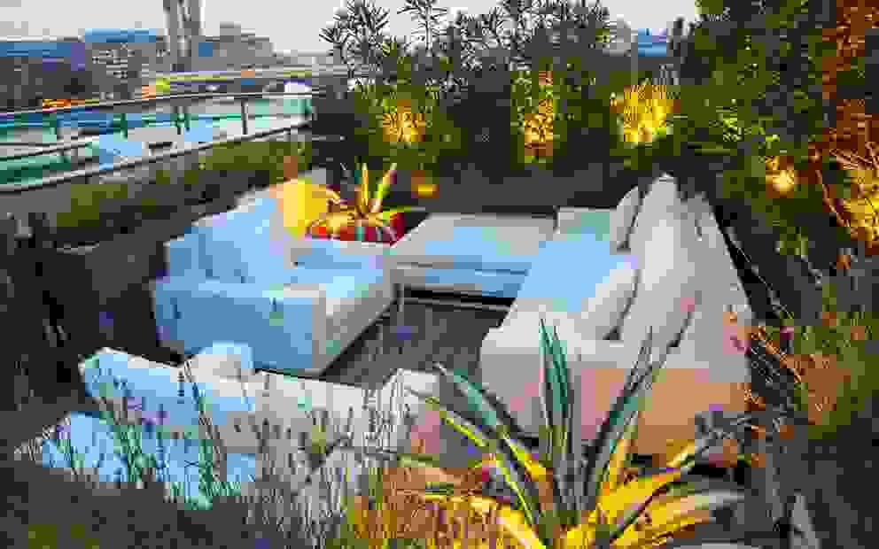 Roof terrace planting design ideas MyLandscapes Garden Design Modern balcony, veranda & terrace