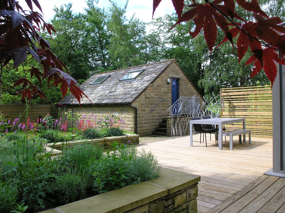 Garden Design In Greenfield in Oldham David Keegan garden Design & Landscape Consultancy Country style garden
