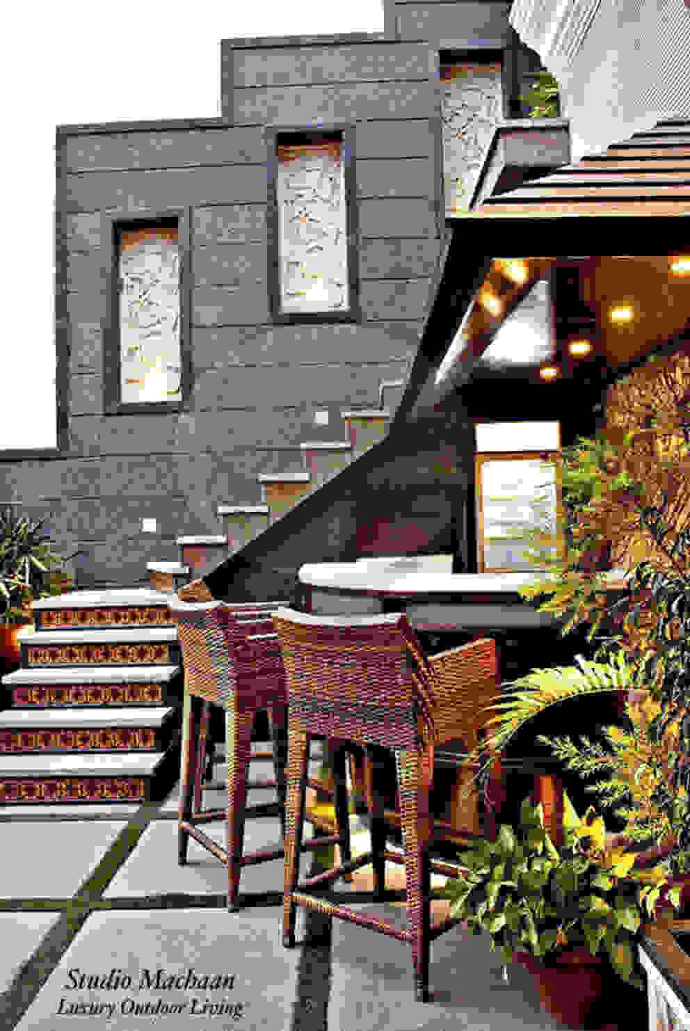 Terrace Garden Designs by Studio Machaan Studio Machaan Terrace