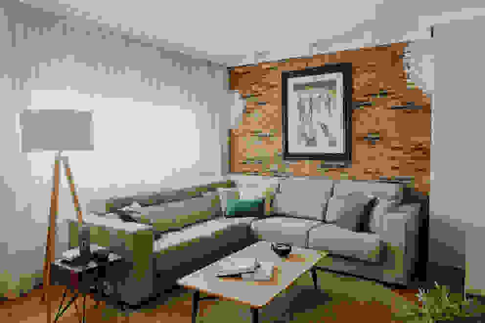 Comodoos Interiores Living room Beige