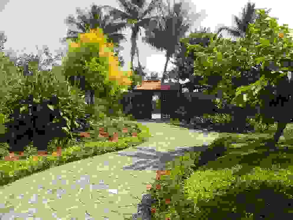 Baghorama Landscape Architects Front yard Stone Grey