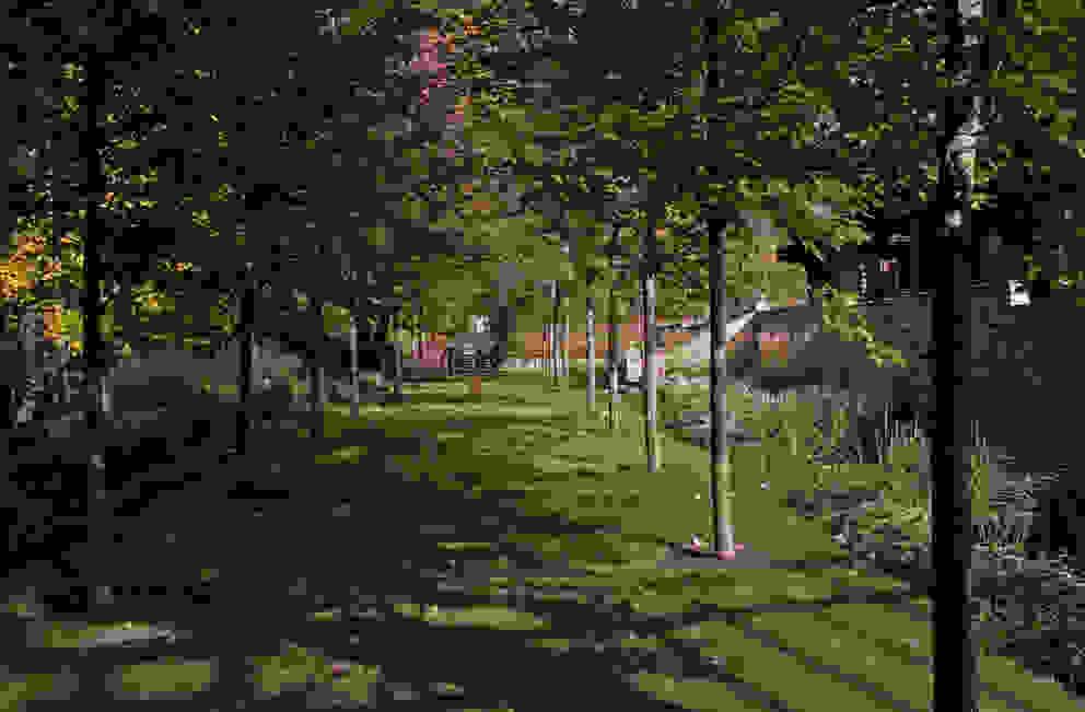 Jardin classique par ООО GeoGraffiti Classique