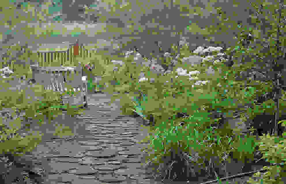 Jardines de estilo clásico de ООО GeoGraffiti Clásico