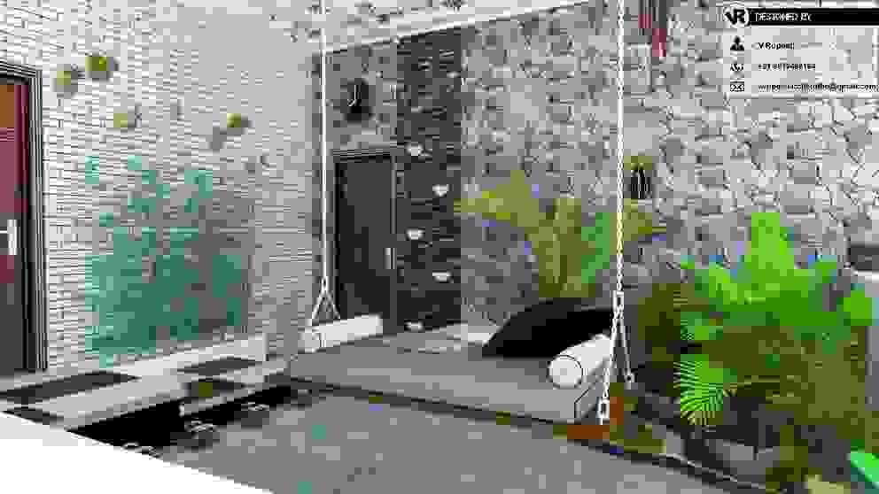 V R Arch Studio Garden Shed