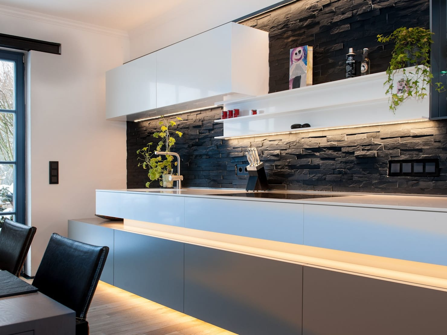 35 creative ways to embrace stone walls in your home