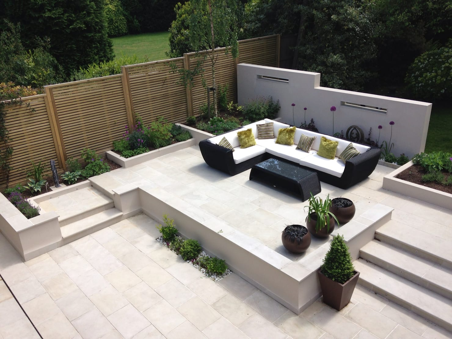 Gardening ideas for easy green space decoration