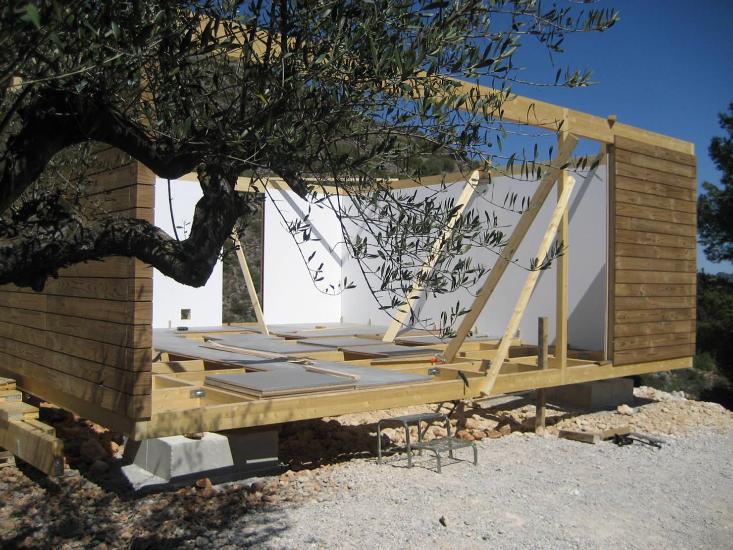 So könnt ihr ein Holzhaus selbst bauen: Schritt für Schritt erklärt