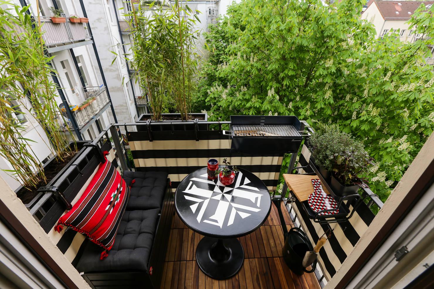 20 petits balcons parfaitement aménagés