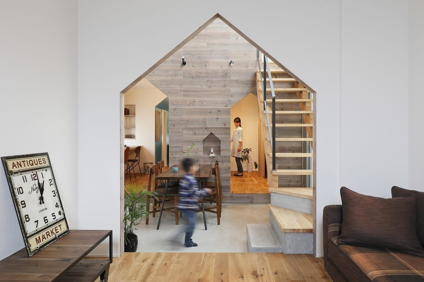 The playful Japanese home built for a family