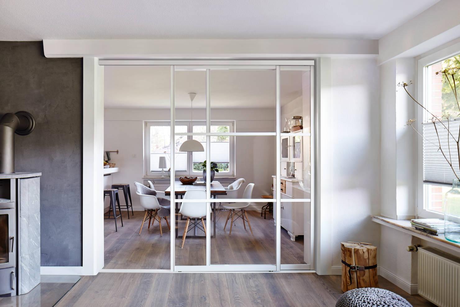 9 идей для зонирования кухни и гостиной