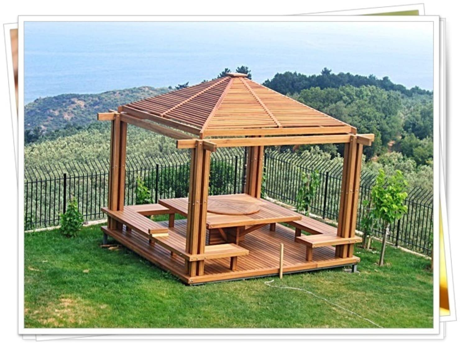 DIY: build a garden pergola in 5 steps
