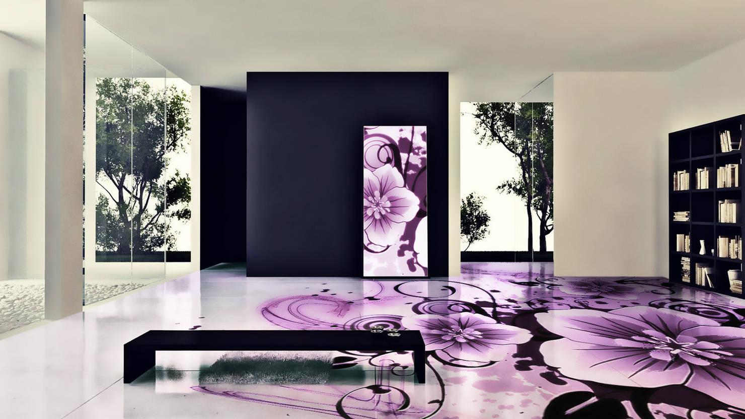 Color violeta para la casa: ideas y consejos