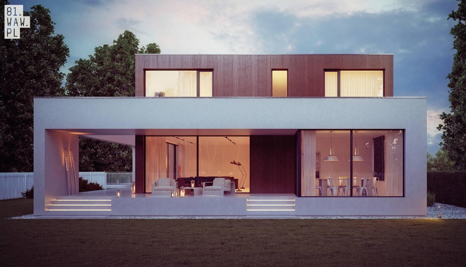 10 интересных польских проектов домов