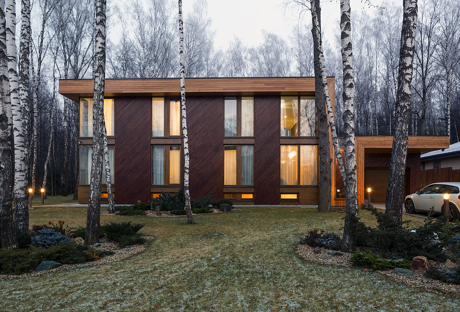 10 unforgettable wood-rich houses