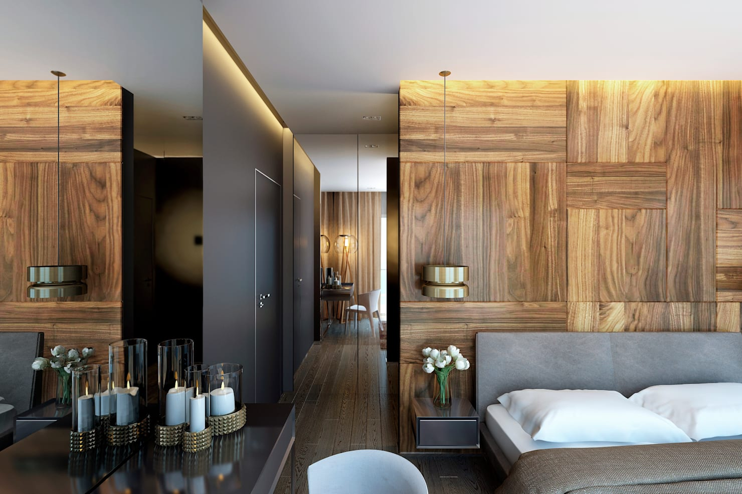 18 модных идей для дизайна спальни