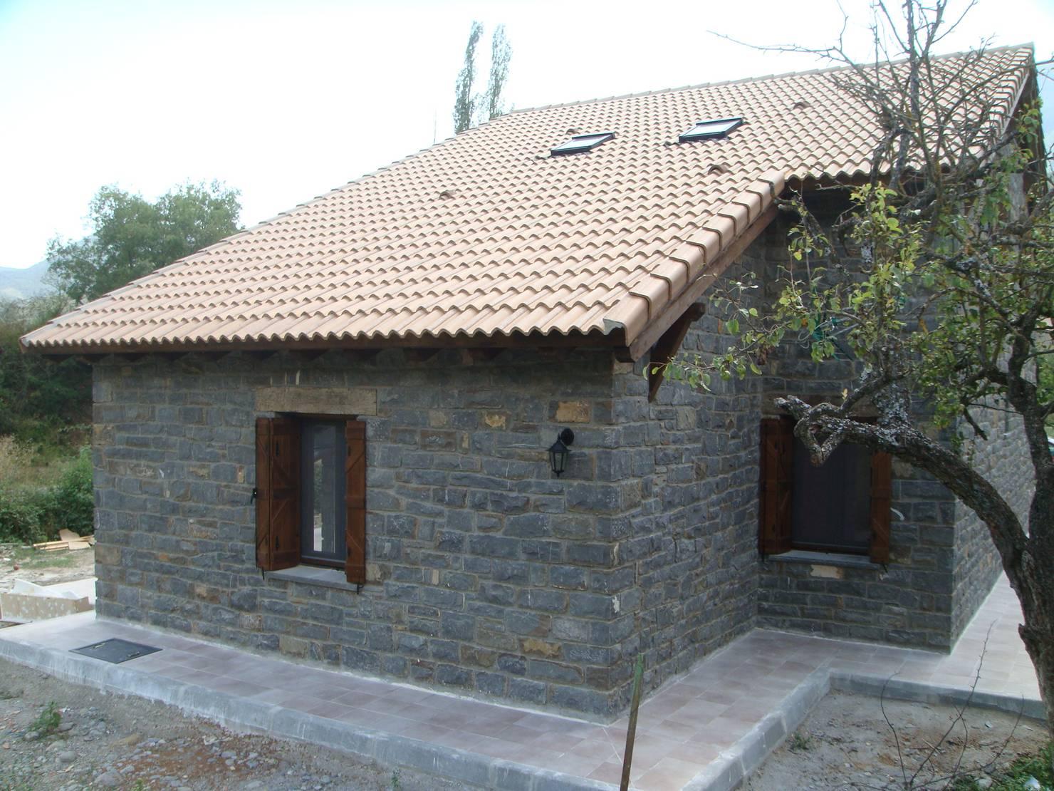 La construcción de una casa prefabricada en Huesca
