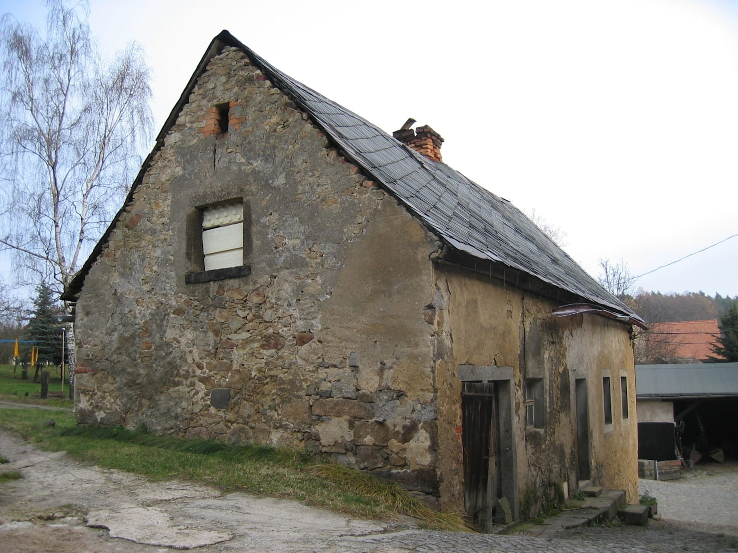 A crumbling house becomes the perfect home