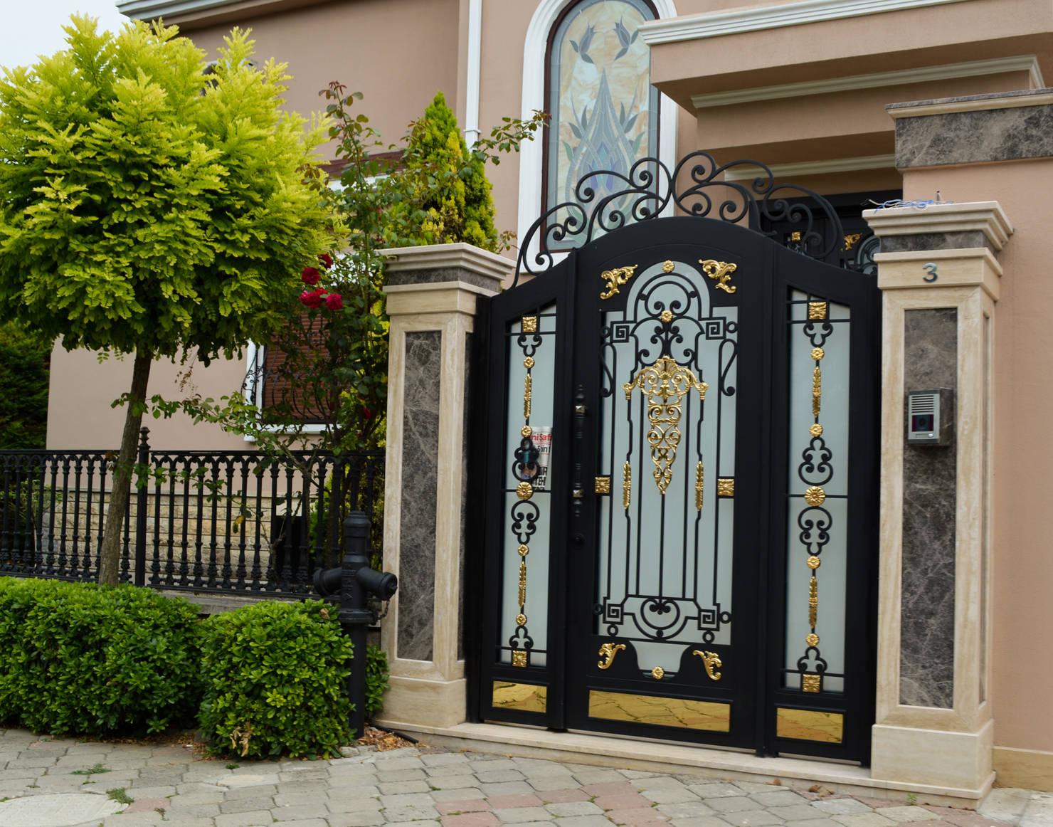 10 очень красивых ворот для дома