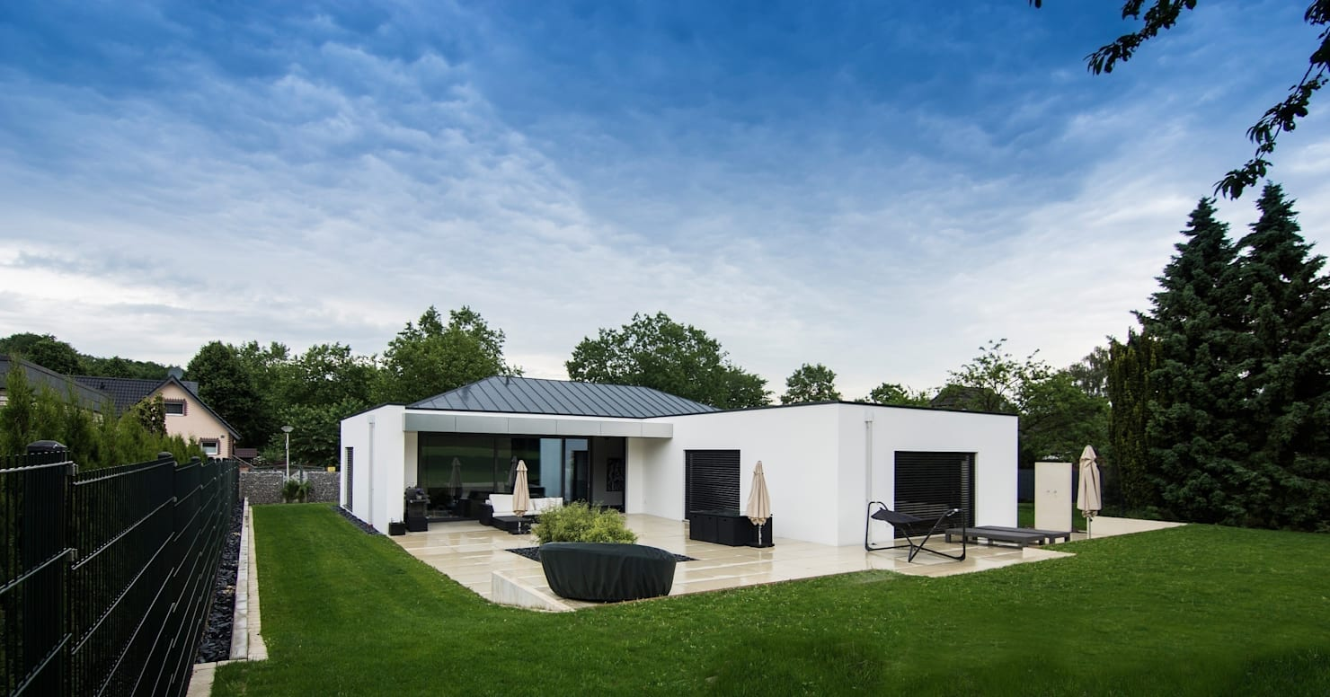 자연 속에 아름답게 담긴 단층주택 9선