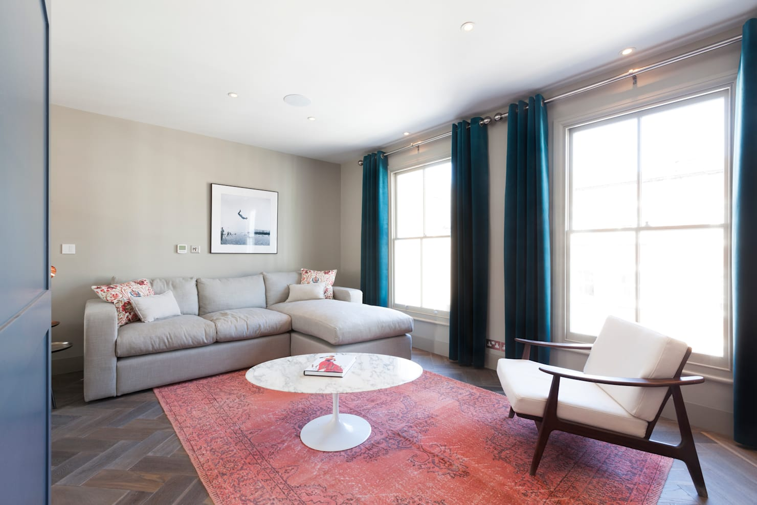 This London apartment is full of chic modernity