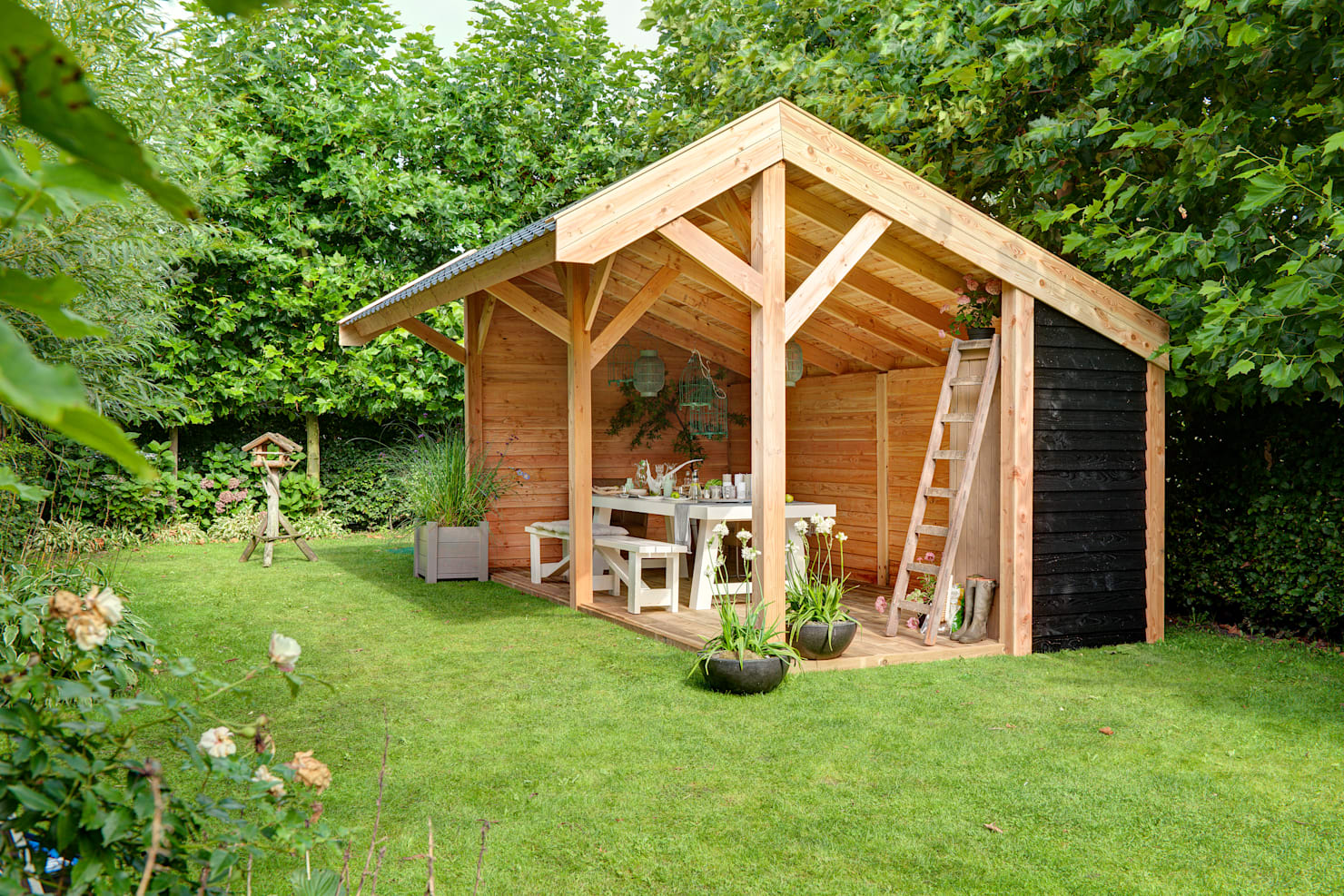 Woodworking: 10 easy ways to build your own pergola