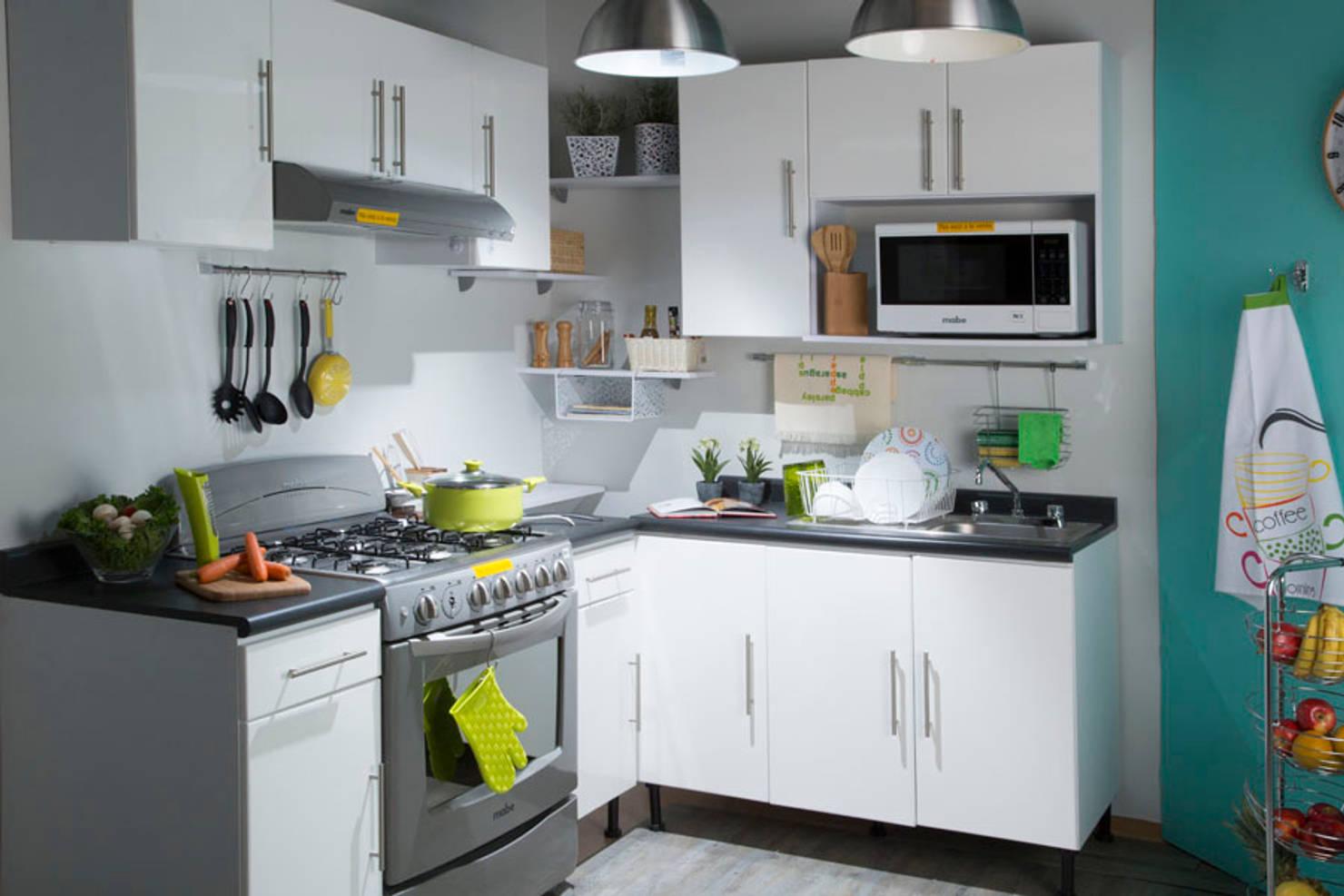 20 cocinas inspiradoras ideales para una casa pequeña