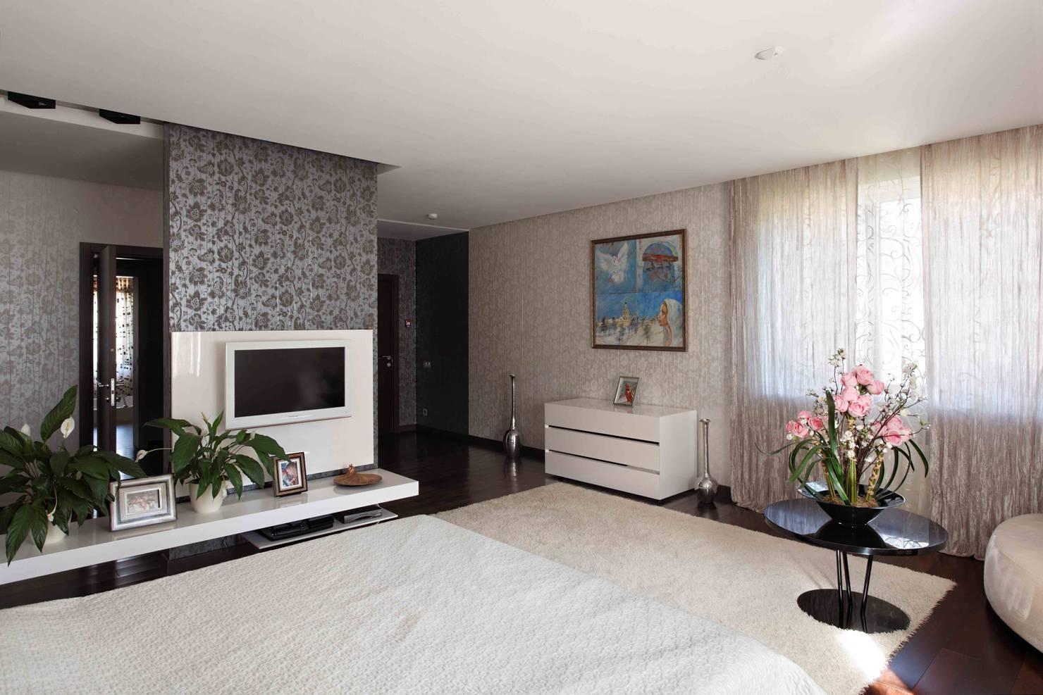 На фото - Дизайн дома в Москве