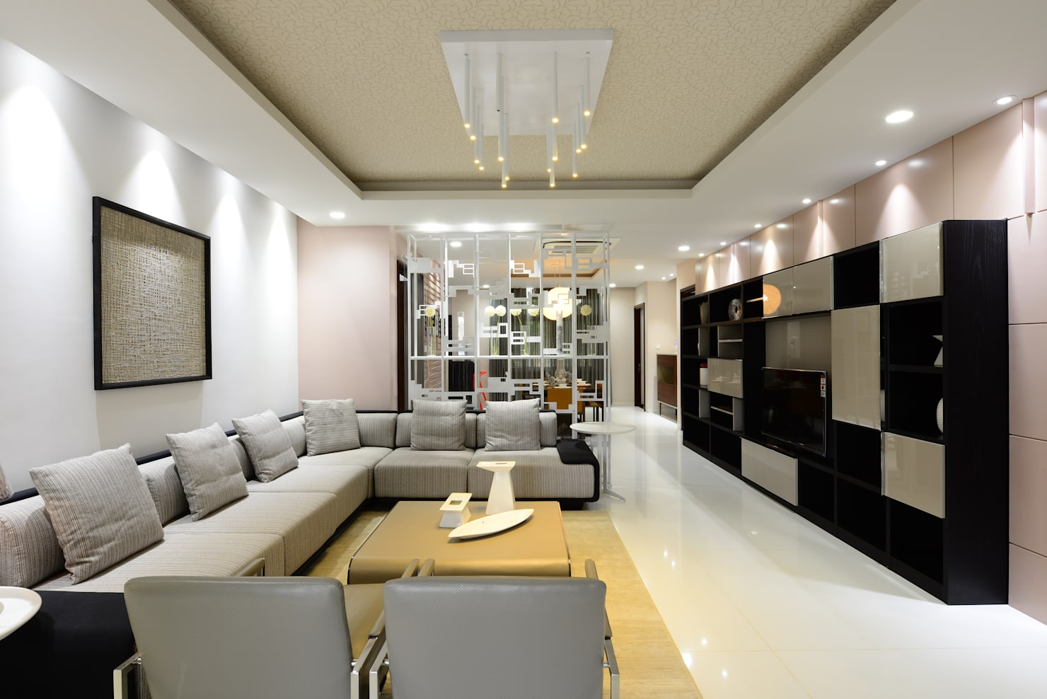 ​A Gorgeous Modern Apartment in Hyderabad