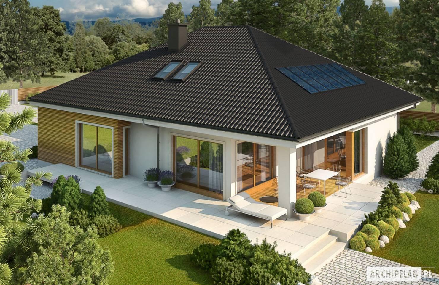 11 семейных домов для легкой стройки