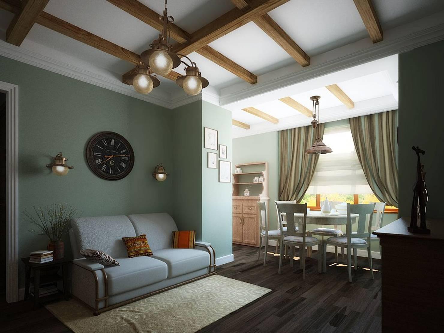 Стильная квартира с природными элементами