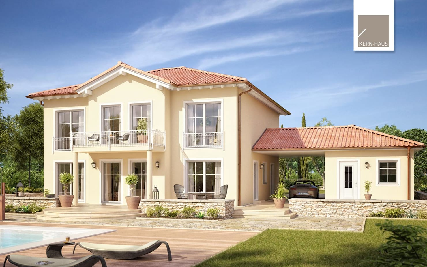 Красивый дом в 210 кв. метров за 2,5 млн