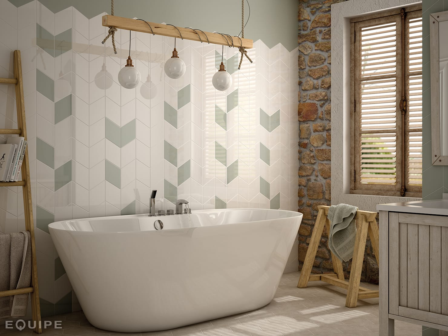 10 simple ways to renovate the bathroom