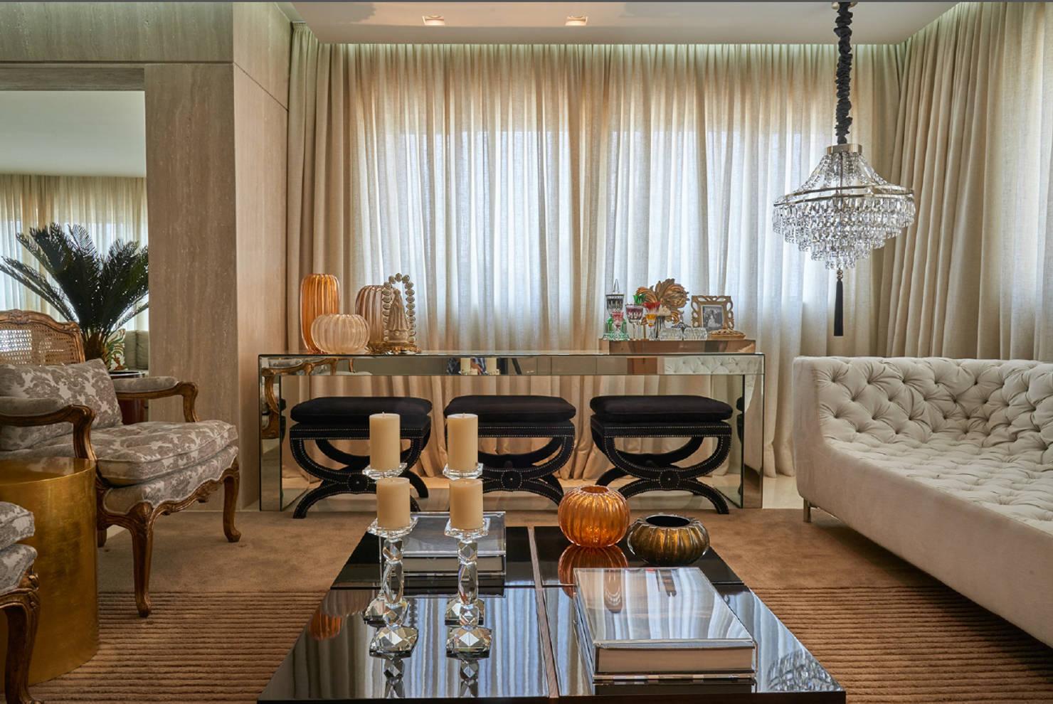 На фото - Современный стиль в дизайне интерьера гостиной