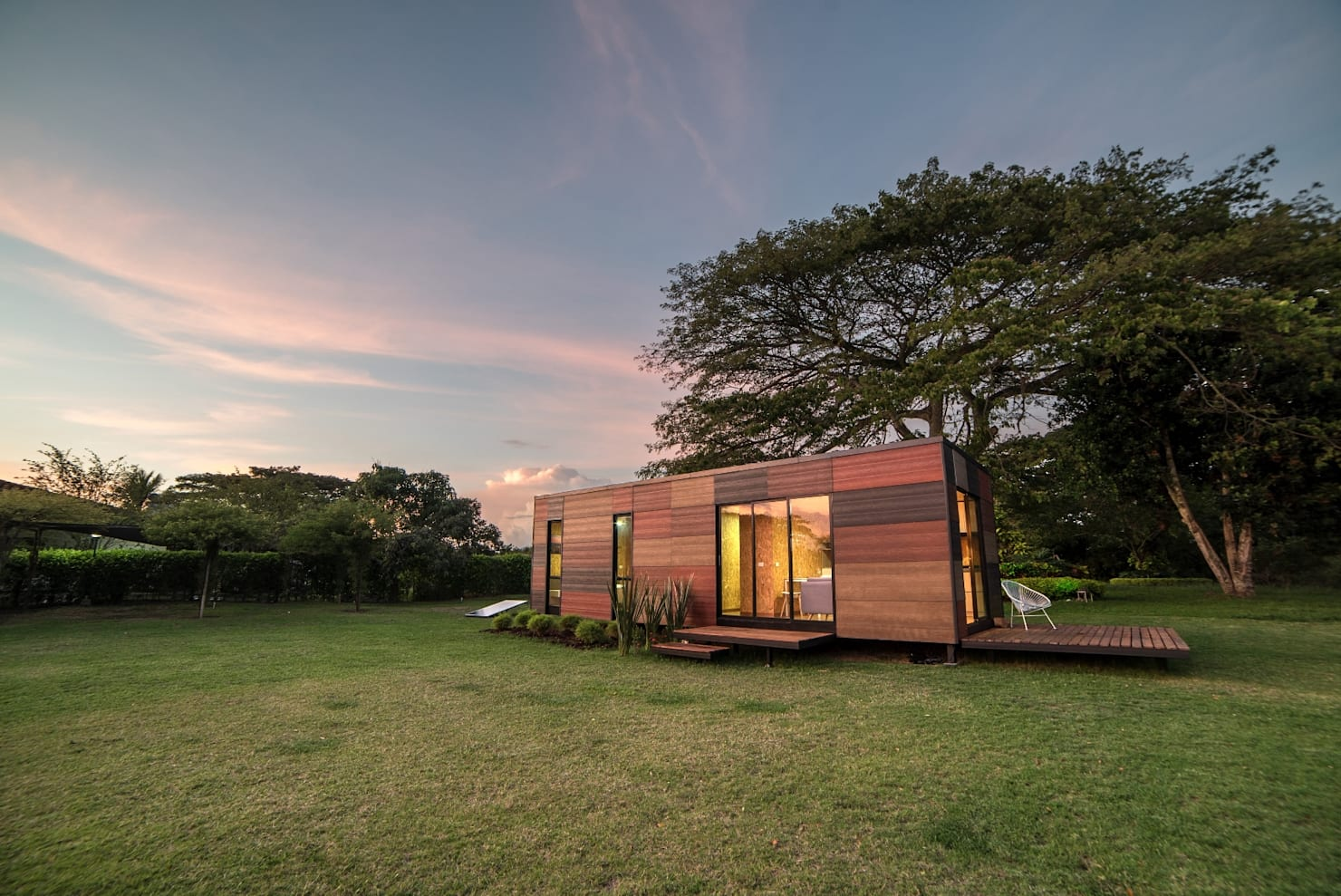 A home designed with sustainability in mind