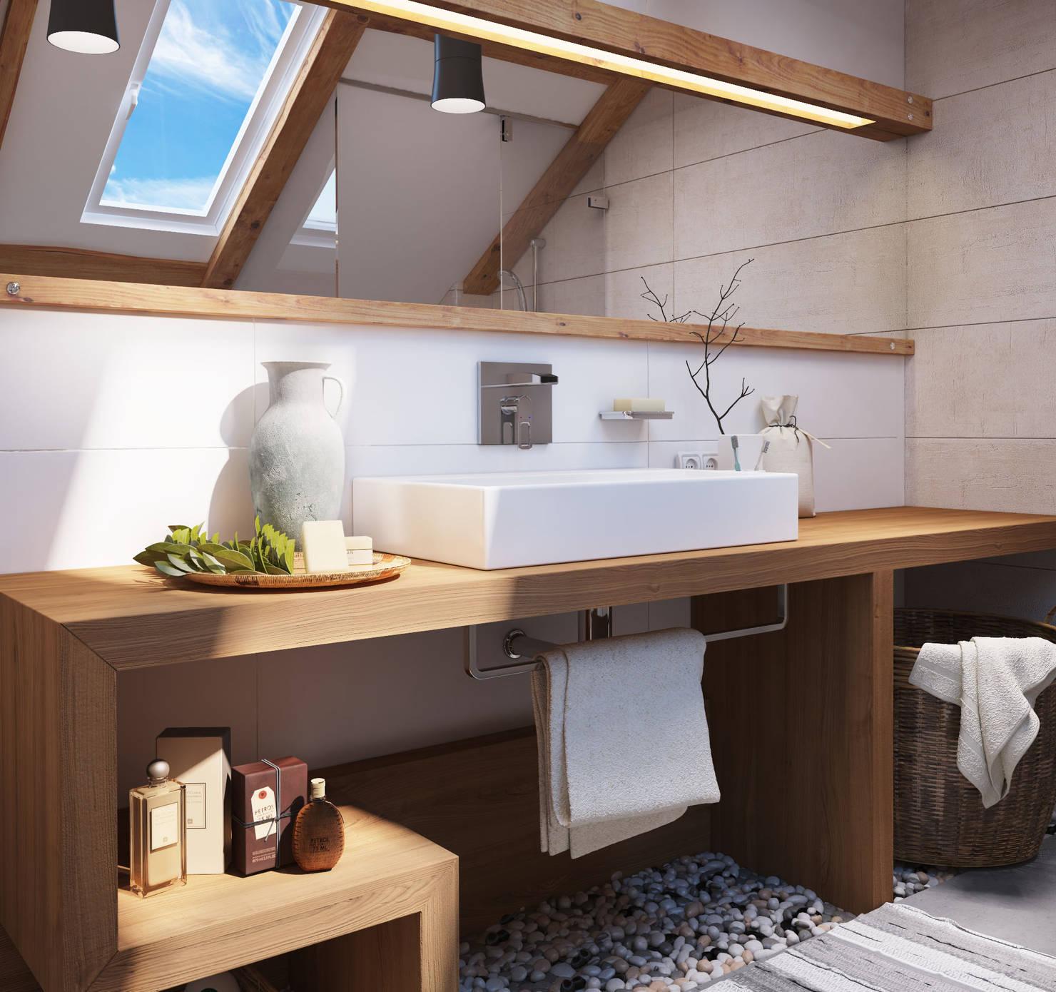 10 советов, чтобы ванная была свежей и аккуратной
