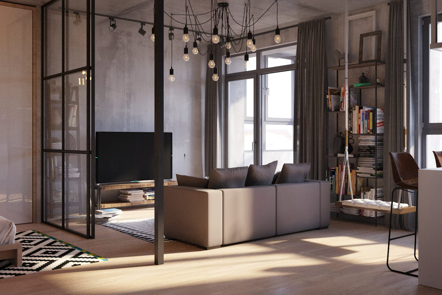 8 cool ways to separate space in your small home