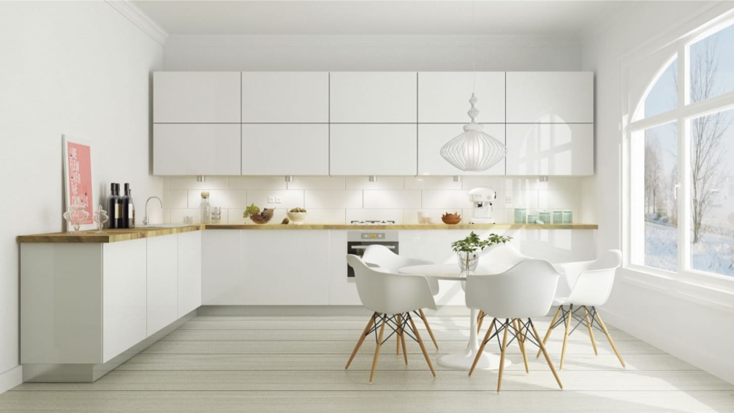 Guía rápida para diseñar la cocina ¡perfecta!