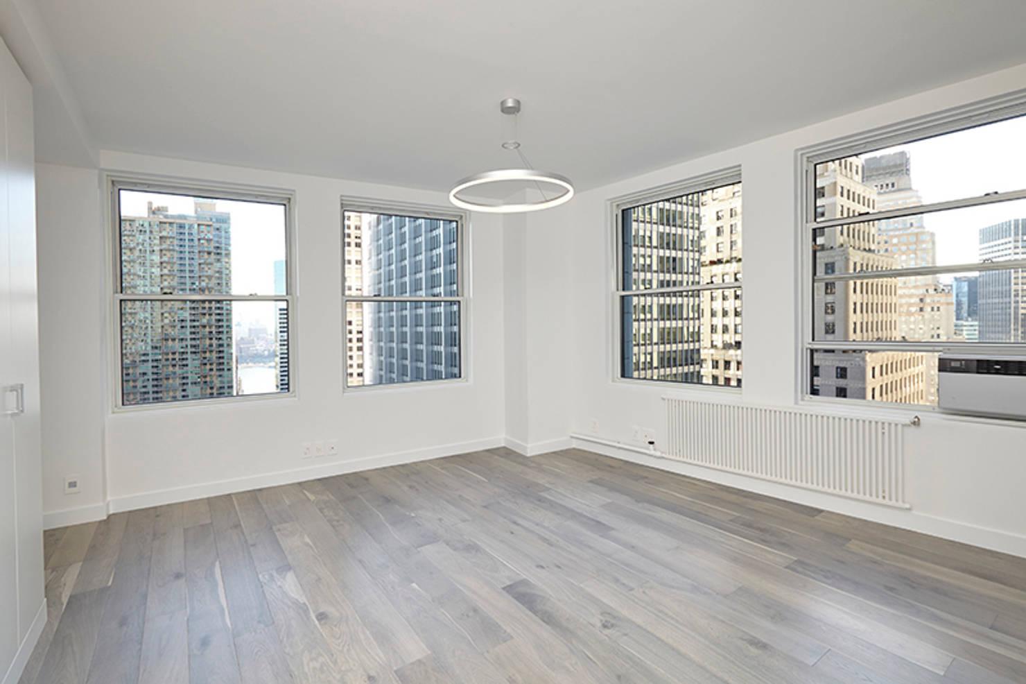 A breathtaking all-white apartment