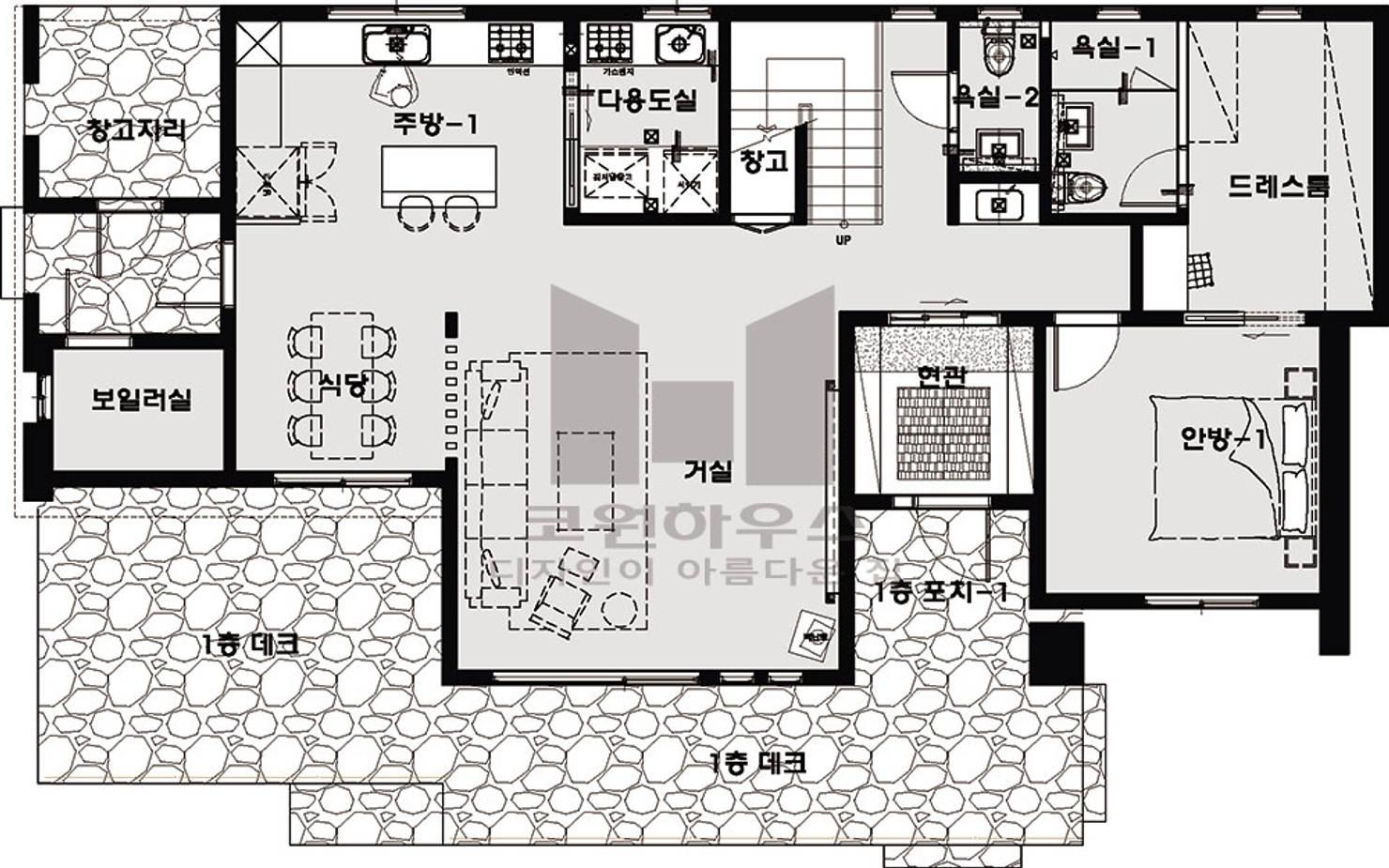 주택, 어떻게 설계하면 좋을까. 국내 주택 평면도 모아보기 7