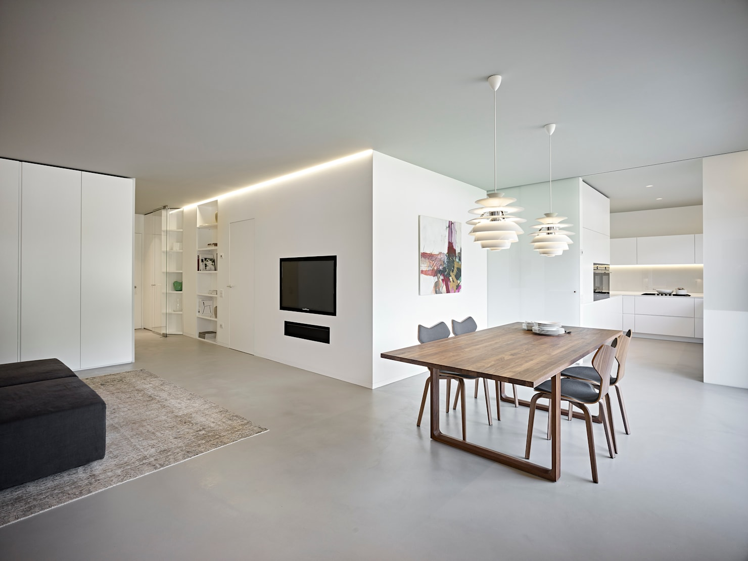A minimal home with maximum style