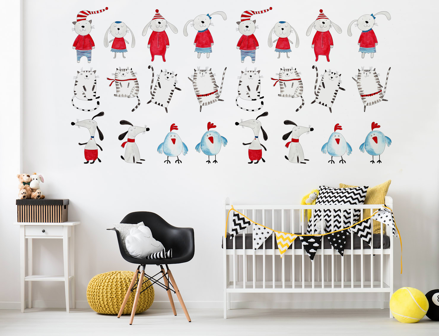 Nursery design ideas to earn you cool parent points!