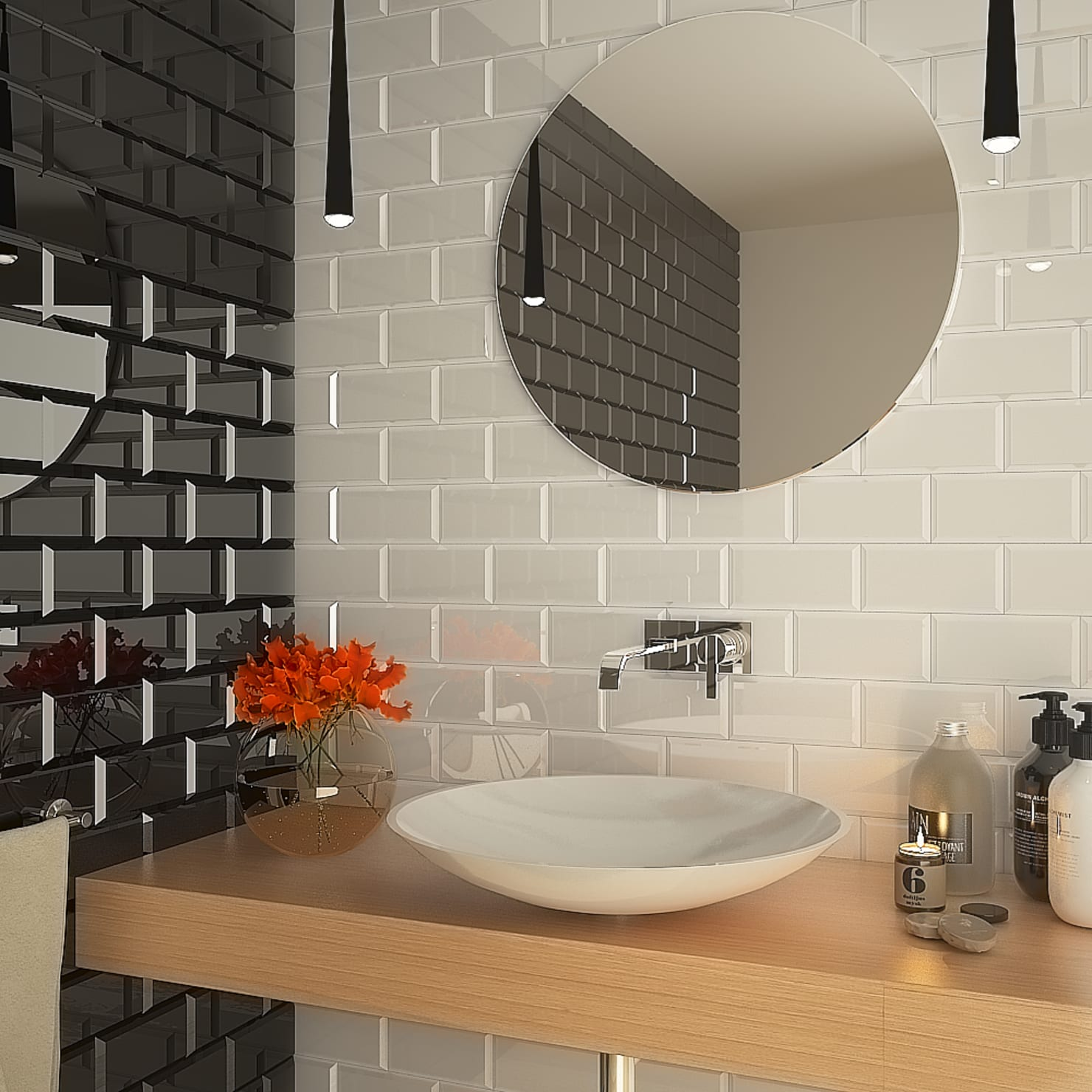 Subway Tiles Classic Way To Inject An Urban Look Into Your Home: Homify On Flipboard
