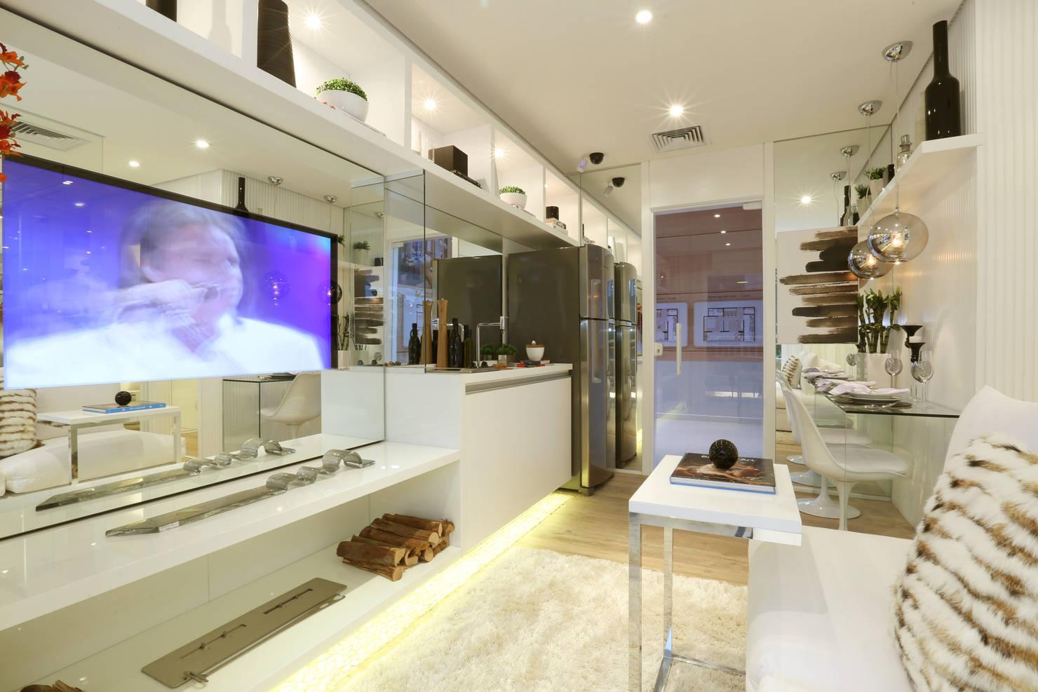 Apartamento De 34m² Tem Planejamento e Decoração Incríveis
